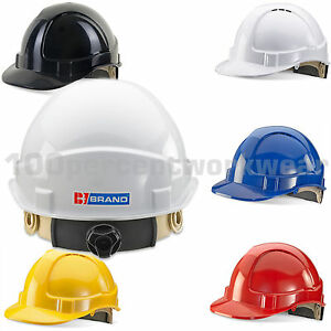 BBrand-Wheel-Ratchet-Vented-Work-Safety-Helmet-Hard-Hat-Construction-Builders