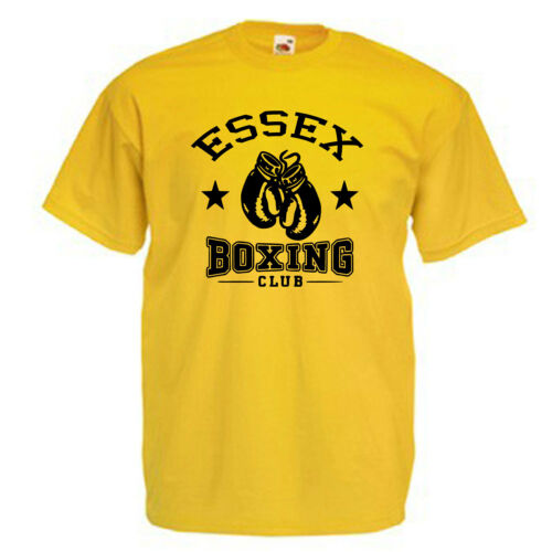 Essex Boxing Club Adults Mens T Shirt