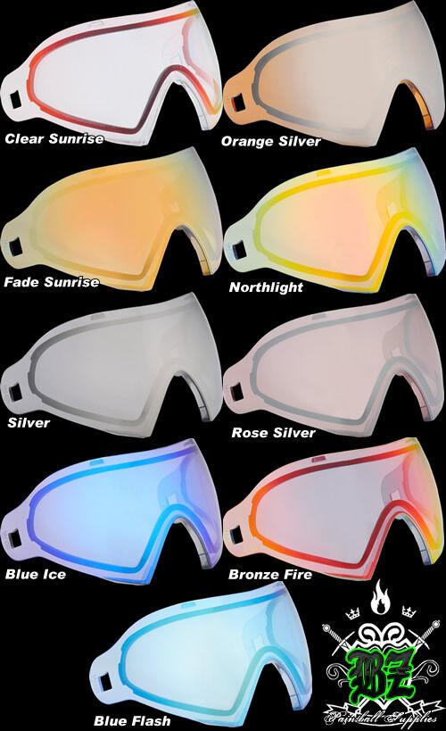 New DYE i4 Dyetanium Dyetanium i4 Thermal Paintball Goggle Lens - Various Colours 549b1a