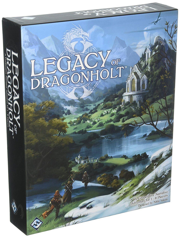 Fantasy Flight Games FFGORA01 Legacy of Dragonholt English version