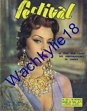 Festival n°255 de 1954 Sophia Loren Attila