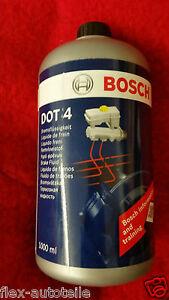 Bosch-Brake-Fluid-1L-DOT4-1987479107-VW-BMW-Vauxhall-Audi-Mercedes-Seat-Skoda