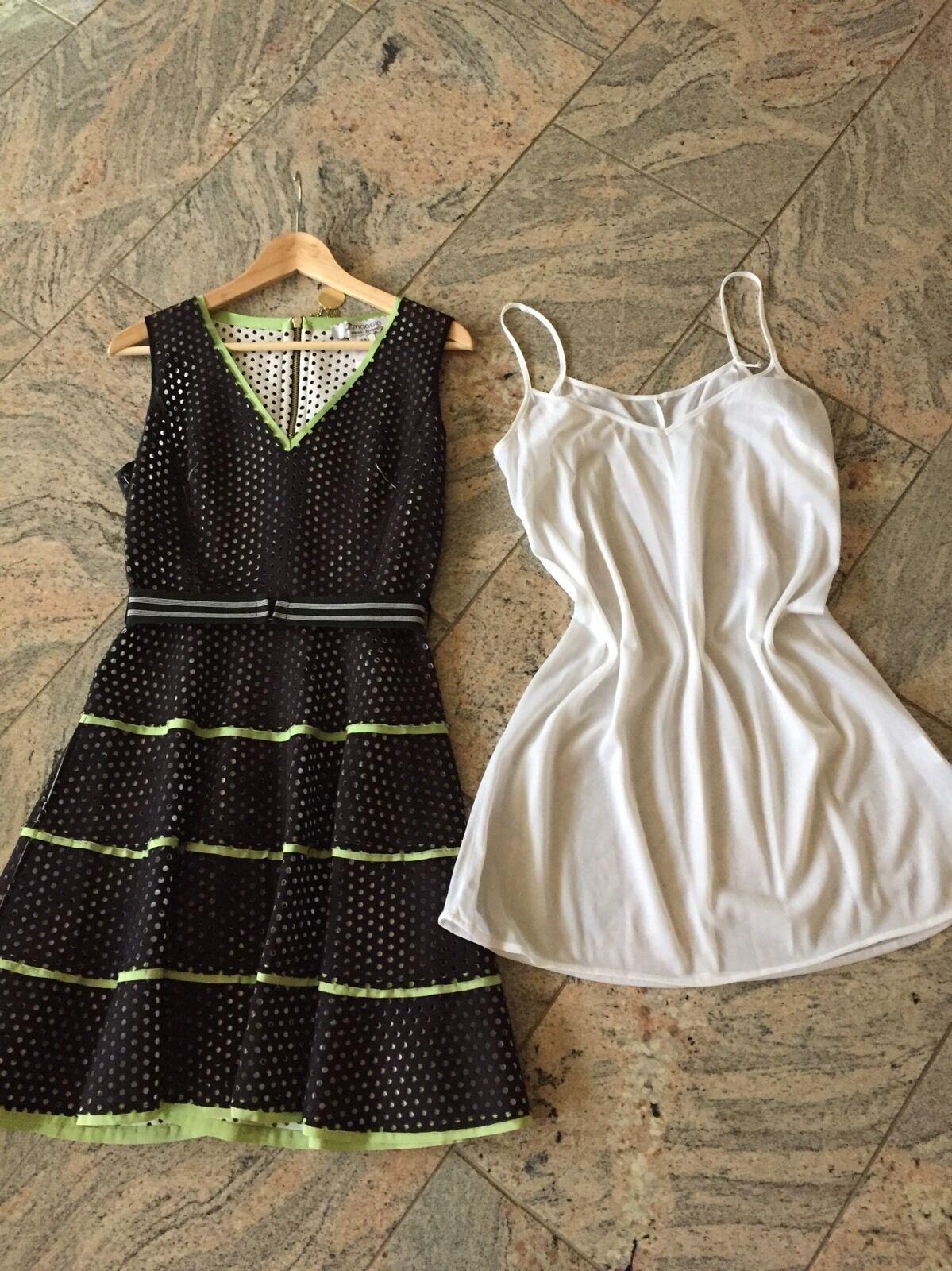 Gelochtes Gelochtes Gelochtes Kleid Von 2 Maggio Gr.M Neu c46650