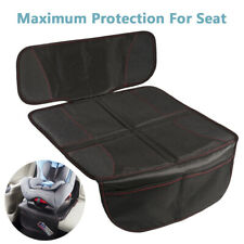 Car Seat Cover Mat Under Carseat Thickest Padding Leather Fabric Seat Protector