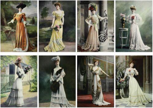 Decoupage-Serviettentechnik-Softpapier-Vintage-Nostalgie-French-Woman-12185
