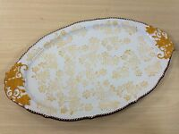 Temp-tations Floral Lace Fall Extra Large Serving Tray/platter -