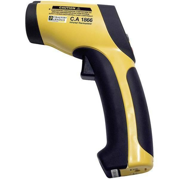 Basetech 350c12 termometro a infrarossi ottica 12:1 50 fino 350 c pirometro