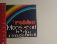 Aufkleber/Sticker: robbe Modellsport ihr Partner für sinnvolle (09011760)