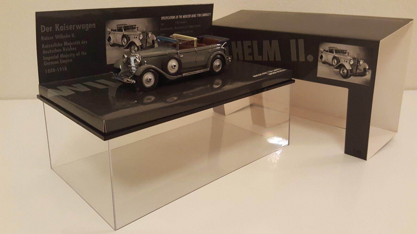 Minichamps - mercedes - benz 770 k cabriolet 1931 kaiser willem ii (1.   43)