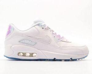 Details zu Nike Air Max 90 Premium Hologram PRM 1 95 97 Gr 44 weiss white 443817 104