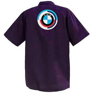 BMW-Mechanics-Graphic-Work-Shirt-Short-Sleeve