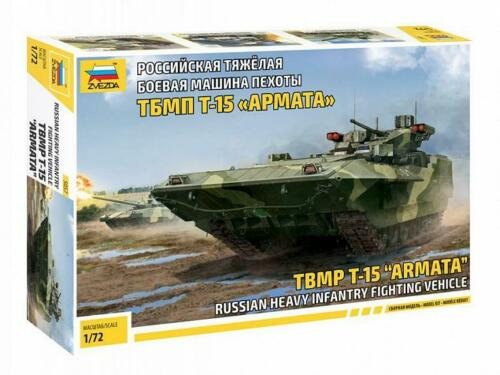 Russian Heavy Infantry Fighting Vehicle TBMP T-15 Armata 5057 ZVEZDA 1:72 New!