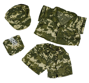 "Teddy Bear SPECIAL FORCES CAMO Costume CLOTHES Fit 14-18"" Build-a-bear !!NEW!!"