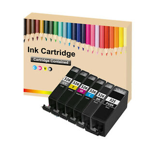 6 CHIPPED PGI-525 CLI-526 INK Cartridge for Canon PIXMA ...