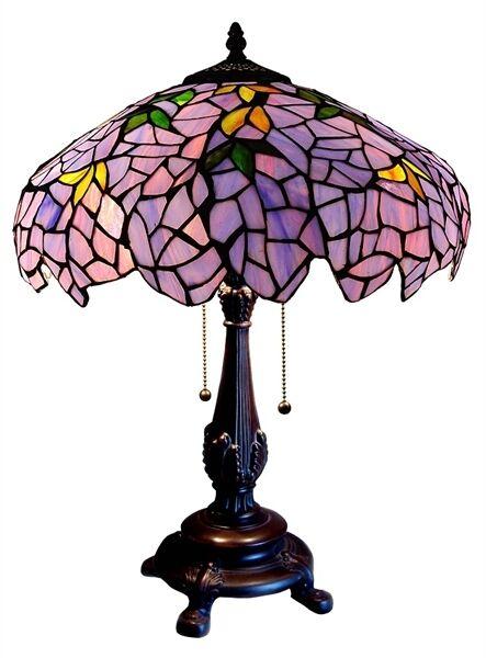 Beau Chloe Lighting Tiffany Style Wisteria Table Lamp Ch16828tl   EBay