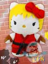 "Street Fighter x Sanrio Hello Kitty 6"" Mini Plush 2 Ken"