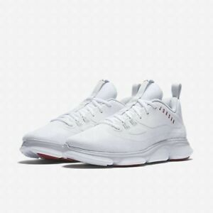 NIKE AIR JORDAN IMPACT TRAINER MEN S SHOES  SIZE 11  WHITE GYM RED ... 4169a373612