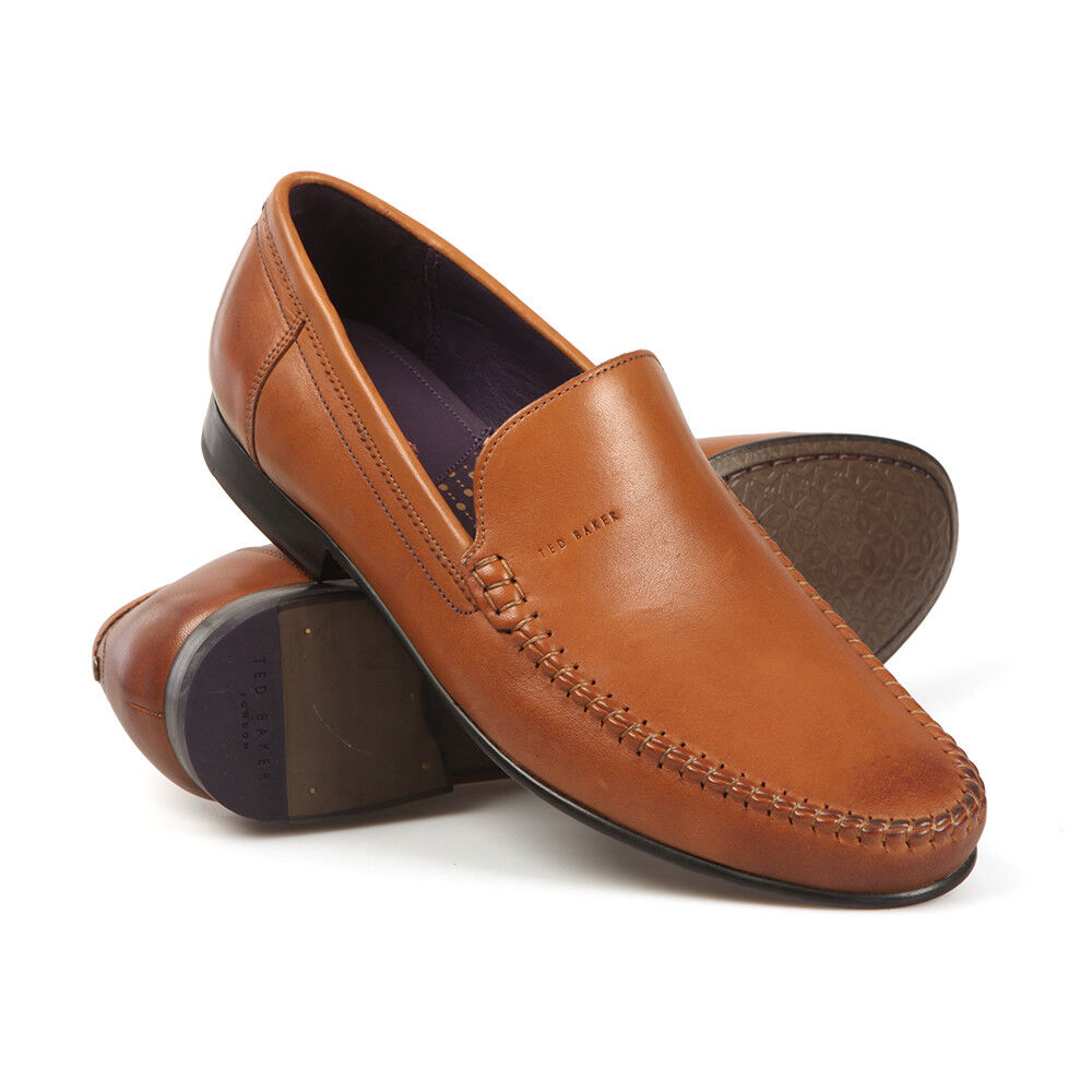 TED BAKER Simeen 4  braun tan moccasin style slip on
