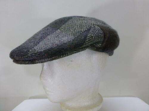 Vtg Shandon Donegal Tweed Ireland Wool Newsboy Gat