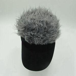 54bd50bb60809 NEW Casquette Funny Men Adjustable Flair Hair Visor Hat Golf Fashion ...
