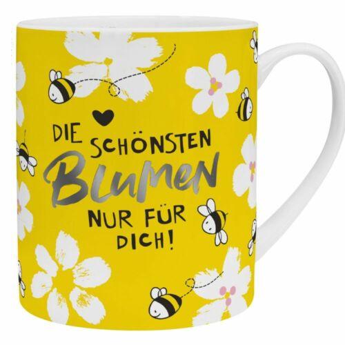 Sheepworld XL Tasse mit Blumensamen Die schönsten Blumen nur für dich Kaffeetass