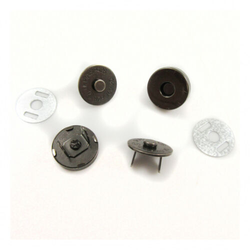 MAGNETIC BAG CLASP FASTENERS*2 SIZES*4 COLOURS* HANDBAGS PRESS STUD CLOSURE