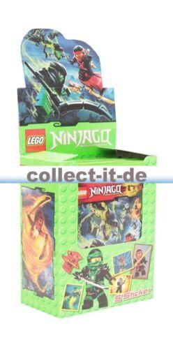 Sammelsticker Blue Ocean 50 Tüten LEGO Ninjago Display