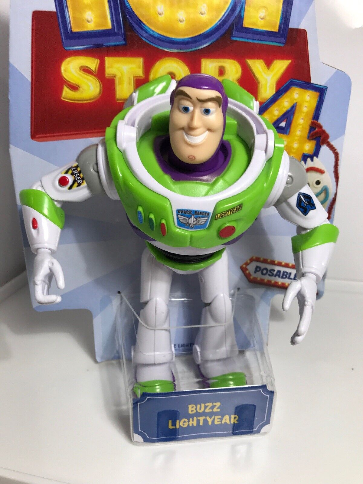 Neu Mattel Toy Story 4 Basis Figur Buzz Lightyear 11313346