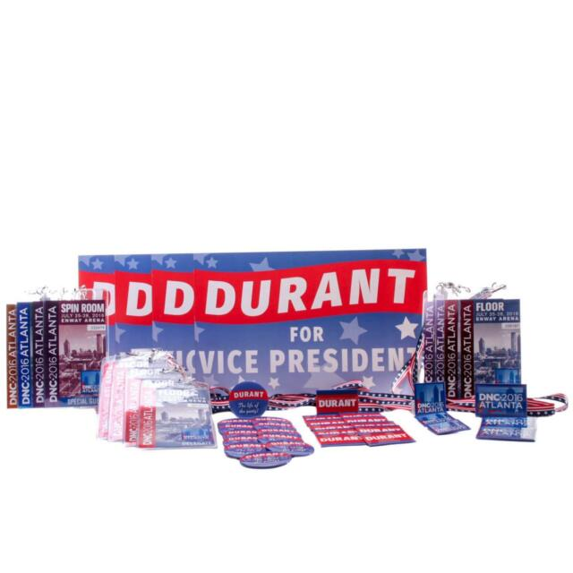 House of Cards Screen Used Durant Campaign Set