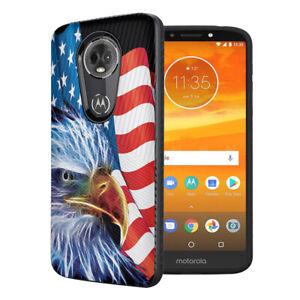 Embossed Black Case Cover Motorola Moto G7 Power G7 Supra American Eagle Ebay