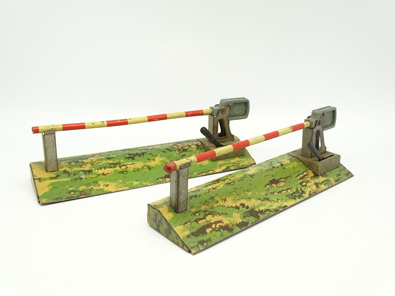 JEP Metallo O - Lotto di 2 barriere passage a livello