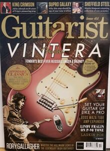 Guitarist-Issue-451-Oct-2019-Fender-Vintera-Rory-Gallagher-FREE-SHIPPING-CB