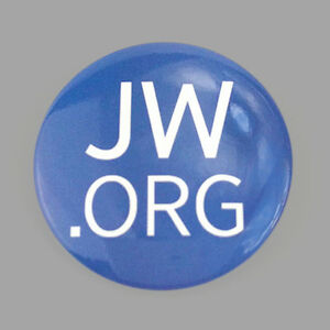 100 2.25 Inch JW.ORG Buttons Pins Badges