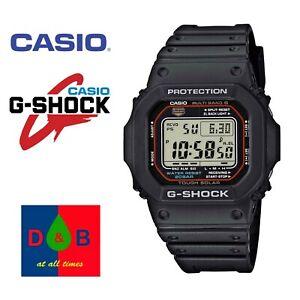 Casio-GW-M5610-1ER-Men-039-s-G-Shock-Black-Resin-Digital-Alarm-SOLAR-Watch-BARGAIN