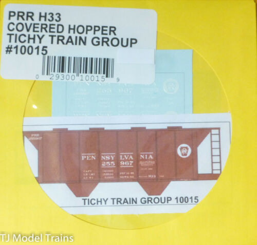 Tichy Train Group #10015 Decal for:Pennsylvania Railroad Class H33 Covered Hoppe