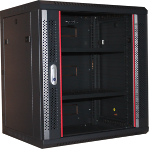 12U-450mm-Single-Section-Redback-Wall-Mounted-Data-Cabinet-Provisions-for-2-fans