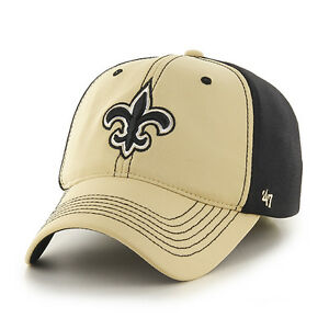088d259f94f1c New Orleans Saints 47 Brand Game Time Closer Hat Stretch Fit Flex ...
