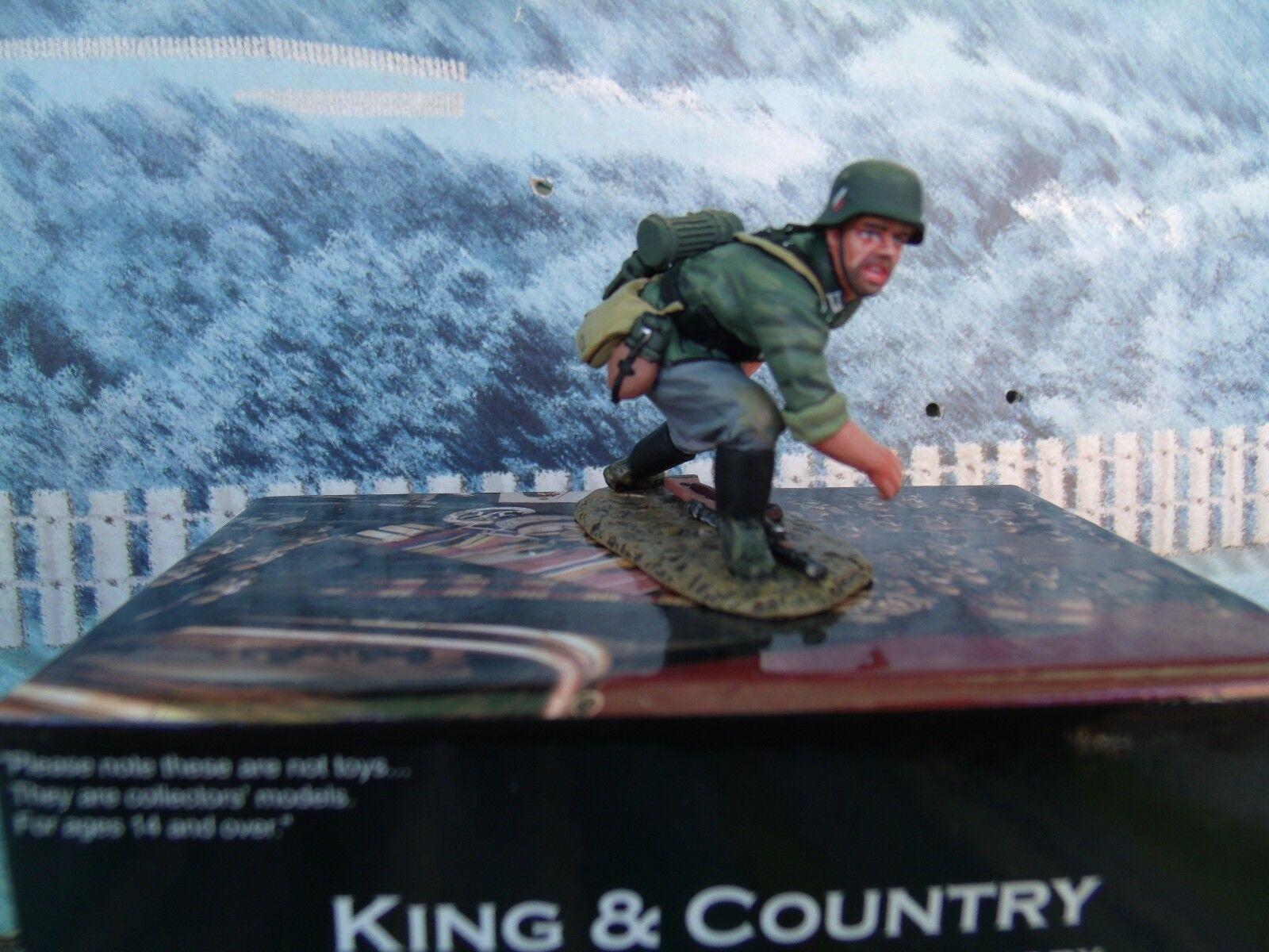 King & Country  WW2 German Grenadier WS238