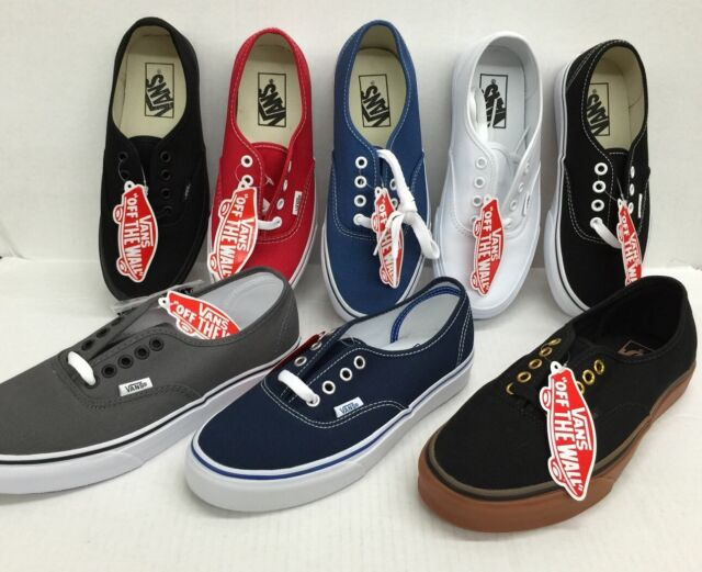 VANS AUTHENTIC CLASSIC SNEAKERS MENS / WOMEN CANVAS SHOES * NEW IN THE BOX*