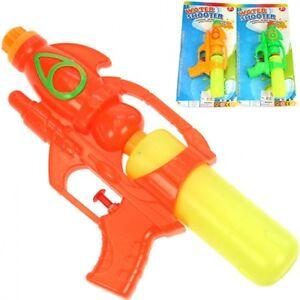 """2x Wasserpistole Wasser-Pistole Spritzpistole Kanone """"Space Gun"""" 24 cm mit Tank"""