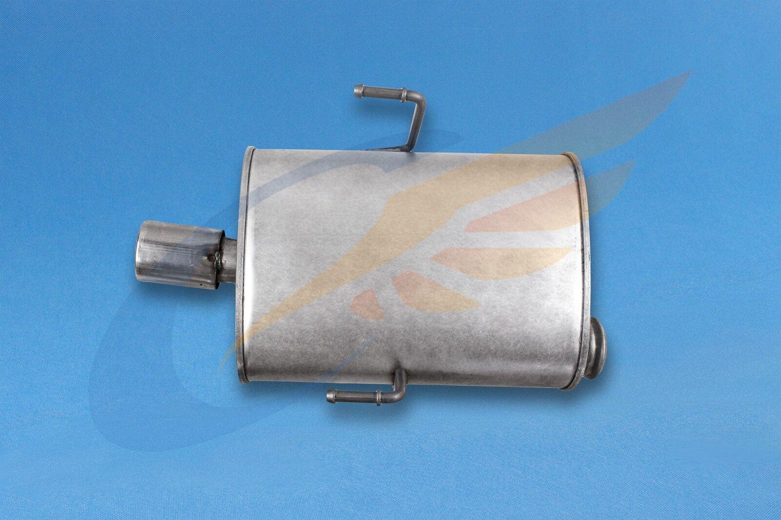 Stufenheck 96-04 Auspuff Endschalldämpfer PEUGEOT 406 8C,8B 3.0 V6 24V Coupe