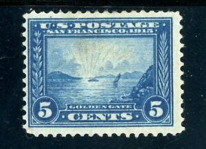USAstamps-Unused-FVF-US-1913-Panama-Pacific-Scott-399-OG-MLH