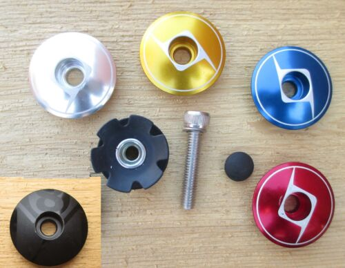 Bicycle Origin8 Headset Top Cap Starnut Assembly 1 1//8 Threadless Capster Colors