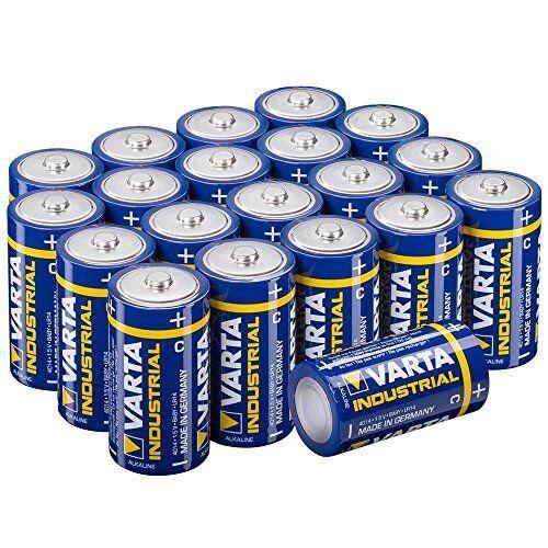6 Stk Varta D Mono Industrial 1,5V LR20 Batterie Bulk 6x
