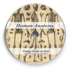 Rare Books on 2 DVD Human Anatomy Body Surgery Physiology Medical History Art 31