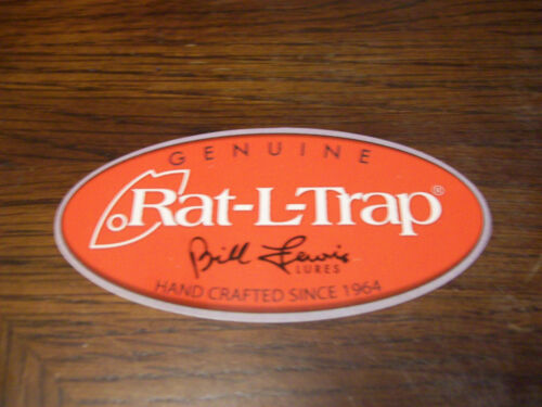 PUT ON BOATS  RVs TRUCK RAT-L-TRAP BILL LEWIS LURES FISHING LURE DECAL