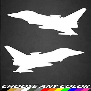 2 USAF A-10 Warthog Nose Art Stickers Military Aircraft Graphic Decal