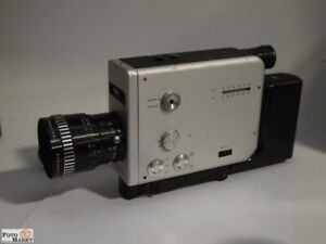 Braun Nizo S56 Super 8 Fotocamera S8 Schneider-Kreuznach Variogon 1: 1,8/7-56