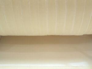 5m x 10mm Velvet Ribbon : 51 Cream