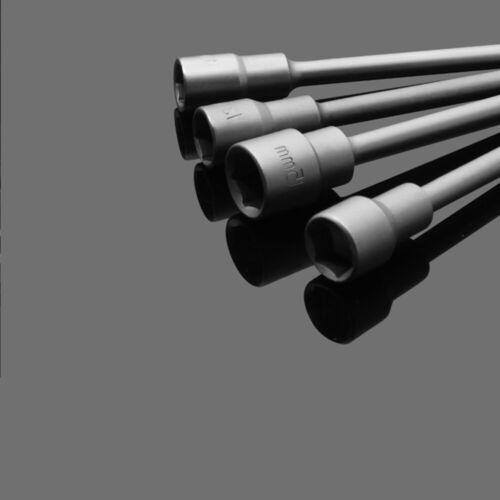 "2-5x 1//4/"" Hex Drive Magnetic Drill Bit Socket 6-19mm Long Reach Impact Nut Bolt"